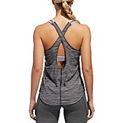 adidas Women's Performer 3-Stripes Tank Top