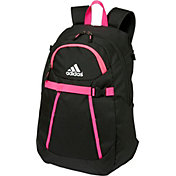 adidas Girls' Triple Stripe Bat Pack