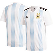 adidas Youth Argentina Replica Home White Stadium Jersey