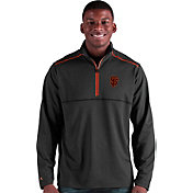 Antigua Men's San Francisco Giants Prodigy Quarter-Zip Pullover