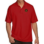 Antigua Men's Atlanta United Xtra-Lite Pique Performance Red Polo