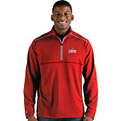 Antigua Men's Los Angeles Clippers Prodigy Quarter-Zip Pullover
