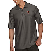 Antigua Men's Bowling Green Falcons Grey Illusion Polo
