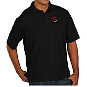 Antigua Men's UNLV Rebels Black Pique Xtra-Lite Polo