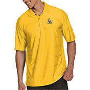 Antigua Men's Appalachian State Mountaineers Gold Illusion Polo