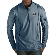 Antigua Men's Penn State Nittany Lions Blue Tempo Half-Zip Pullover