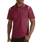 Antigua Men's Southern Illinois  Salukis Merit Xtra-Lite White Polo