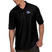Antigua Men's Seton Hall Seton Hall Pirates Black Illusion Polo