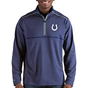 Antigua Men's Indianapolis Colts Prodigy Quarter-Zip Royal Pullover
