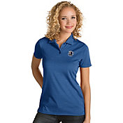 Antigua Women's Dallas Mavericks Xtra-Lite Royal Quest Performance Polo