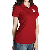 Antigua Women's Houston Cougars Red Inspire Performance Polo