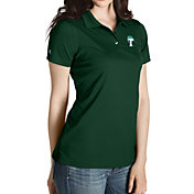 Antigua Women's Tulane Green Wave Olive Inspire Performance Polo