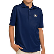 Antigua Youth Georgia Southern Eagles Navy Pique Polo