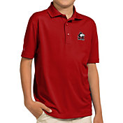 Antigua Youth Northern Illinois Huskies Cardinal Pique Polo