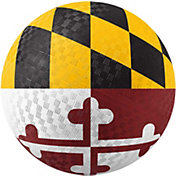Hedstrom Maryland Flag Rubber Playground Ball
