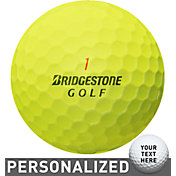 Bridgestone e6 SOFT Optic Yellow Personalized Golf Balls