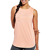 CALIA by Carrie Underwood Women's Flow Checklist Graphic Muscle Tank Top