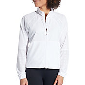 CALIA by Carrie Underwood Women's Woven Full Zip Jacket