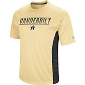 Colosseum Men's Vanderbilt Commodores Black Beamer T-Shirt