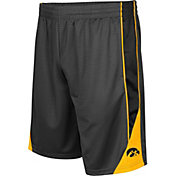 Colosseum Men's Iowa Hawkeyes Grey Turn Over Shorts