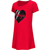 Colosseum Athletics Toddler Girls' Georgia Bulldogs Red Croquet Dress