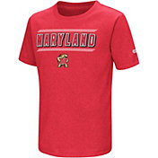 Colosseum Toddler Maryland Terrapins Red Closer T-Shirt