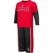 Colosseum Athletics Toddler Boys' Wisconsin Badgers Red Pointer Set