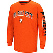 Colosseum Youth Oklahoma State Cowboys Orange Grandstand Long Sleeve T-Shirt