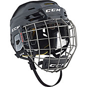 CCM Senior Tacks 310 Ice Hockey Helmet Combo