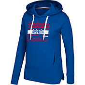 CCM Women's Washington Capitals Bottom Stripe Navy Pullover Hoodie