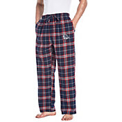 Concepts Sport Men's Gonzaga Bulldogs Red/Blue Huddle Sleep Pants