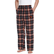 Concepts Sport Men's Oregon State Beavers Black/Orange Huddle Sleep Pants