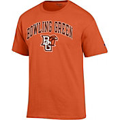 Champion Men's Bowling Green Falcons Orange Big Soft T-Shirt