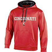 Champion Men's Cincinnati Bearcats Red T-Formation Pullover Hoodie