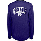 Champion Kansas State Wildcats Purple Pursuit Long Sleeve Shirt