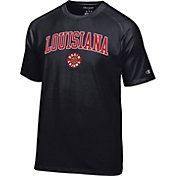 Champion Men's Louisiana-Lafayette Ragin' Cajuns Black Logo T-Shirt