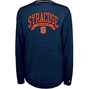 Champion Syracuse Orange Blue Pursuit Long Sleeve Shirt