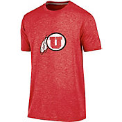 Champion Men's Utah Utes Crimson Touchback T-Shirt