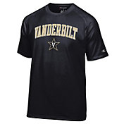 Champion Men's Vanderbilt Commodores Black Word Logo T-Shirt
