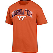 Champion Men's Virginia Tech Hokies Burnt Orange Big Soft T-Shirt