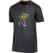 Champion Men's Iowa Hawkeyes black Touchback T-Shirt