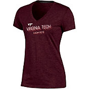 Champion Women's Virginia Tech Hokies Maroon Success V-Neck T-Shirt