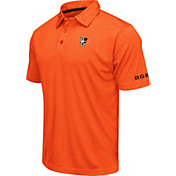 Colosseum Men's Bowling Green Falcons Orange Axis Polo