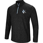 Colosseum Athletics Men's Johns Hopkins Blue Jays Action Pass Quarter-Zip Black Shirt