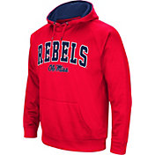 Colosseum Men's Ole Miss Rebels Blue Fleece Hoodie