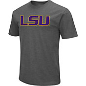 Colosseum Men's LSU Tigers Grey Dual Blend T-Shirt