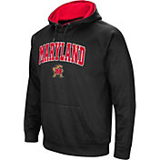 Colosseum Men's Maryland Terrapins Black Performance Hoodie