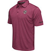 Colosseum Men's UMass Minutemen Green Axis Polo