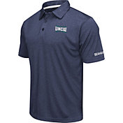 Colosseum Men's UNC-Wilmington  Seahawks Navy Axis Polo
