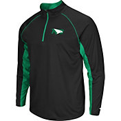 Colosseum Men's North Dakota Fighting Hawks Black Airstream Quarter-Zip